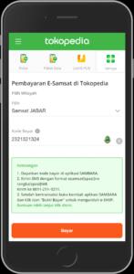 ilustrasi pembayaran pkb di aplikasi Tokopedia Samsat